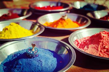 Kumkum powder, India