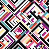 abstract geometric composition,vector eps10