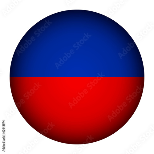 Haiti flag button.