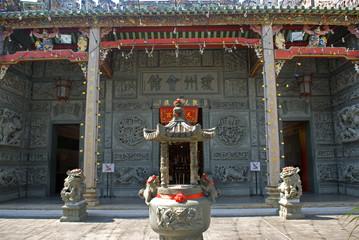 Hainan Temple, Georgetown, Penang, Malaysia