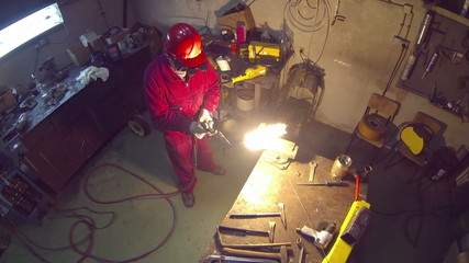 Gas Welding Flame