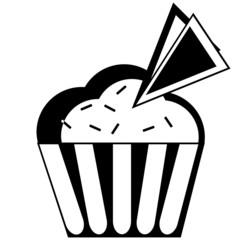 Muffin or ice cream