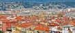 vue aérienne sur la ville de Nice