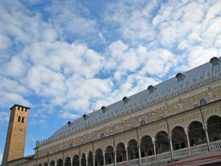 famous basilica of piazza dei signori in Padua