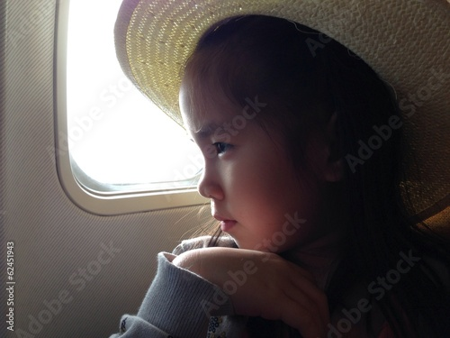 a kids leaving on the jet plane