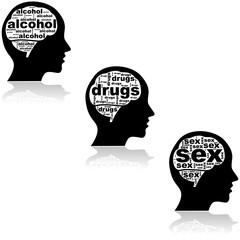 Brain of an addict