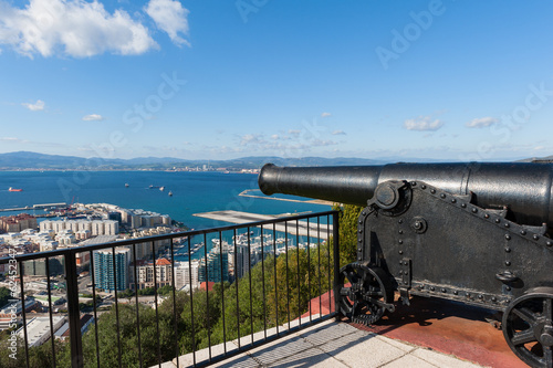 Cannon in Gibraltar