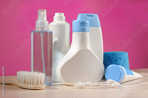 toiletries baby detail