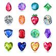 Colored gems