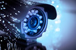 canvas print picture - spy cam