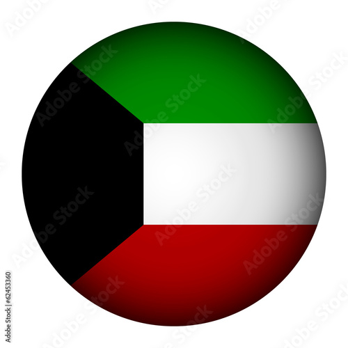 Kuwait flag button.