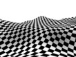 Checkered texture 3d background