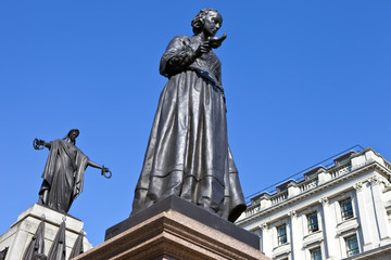 Florence Nightingale Statue and Crimean War Memorial