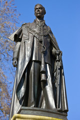 Statue of King George IV in London