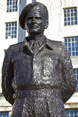 Field Marshall Viscount Montgomery of Alamein Statue