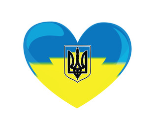 the heart of Ukraine