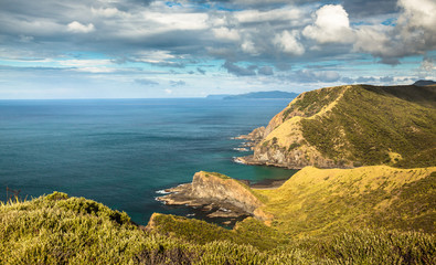 The Spirits Bay at Cape Reinga (New Zealand - Far North), where