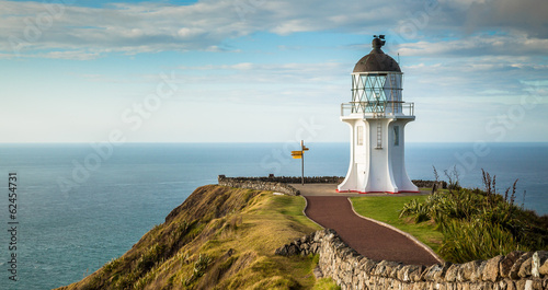 Foto op Plexiglas Nieuw Zeeland Cape Reinga Lighthouse, north edge of New Zealand