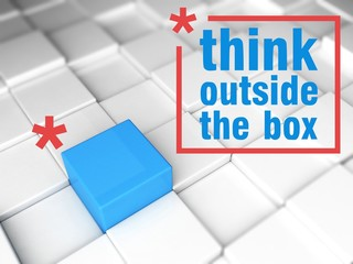 Think outside the box, one unique leader