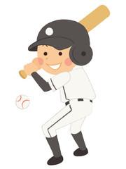 野球 バッター 男性