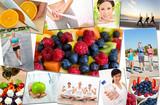 Healthy Men Women People Lifestyle & Exercise