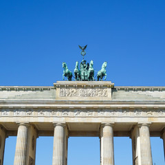 Brandenburg-famous landmark in Berlin