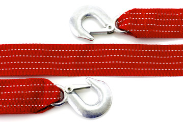 Towing rope isolated