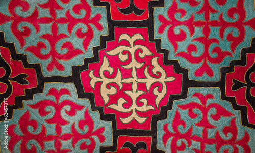 Kazakh felt carpet 3