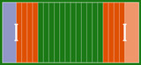 american football field background with artificial turf