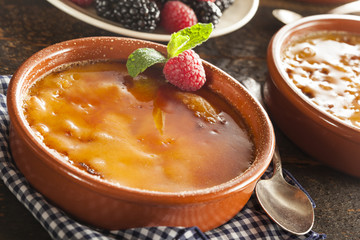 Gourmet Carmelized Creme Brulee