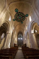 Monastery of Santa Maria de Poblet.Catalonia.Spain