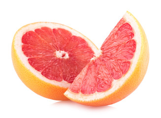 ripe grapefruit slices