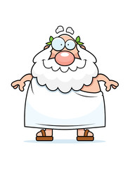 Greek Philosopher Smiling