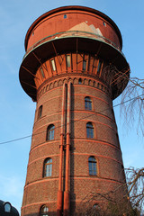 historischer Wasserturm Frechen