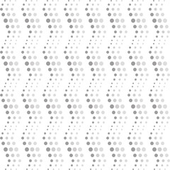 Seamless wavy dots pattern