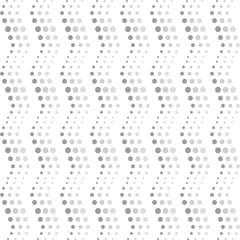 Seamless wavy dots pattern