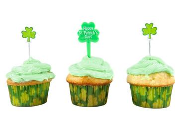 Four Leaf Cupcakes
