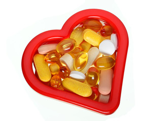 Heart and vitamin supplements