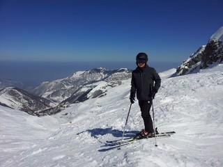 sciatore ad Artesina