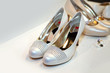 Elegant bridesmaid shoes