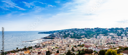 Wonderful view on Naples.