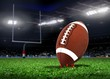 Football Ball On Grass in a Stadium - 62470185