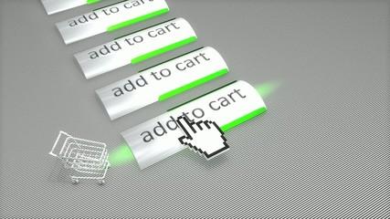 Online shoppinp mouse click.