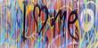 Fototapete Entlassen - Angestrengt - Graffiti