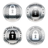 Security Guarantee Label Icons