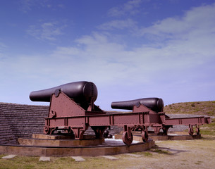 Cannons at Fort Moultrie