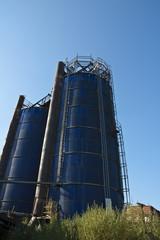 Agricultural Silo - Building Exterior.