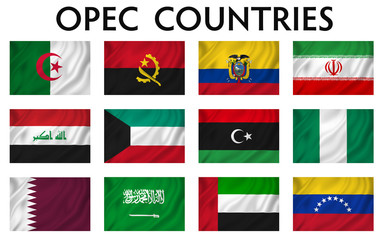 OPEC Counties Flags