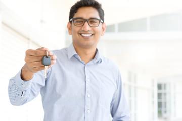 Indian salesman