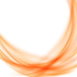 Satin abstract orange smooth background